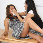 Amateur adorable girlfriends get dominated and sexually punished.