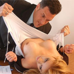 Sexy young lady charley finds herself all trussed